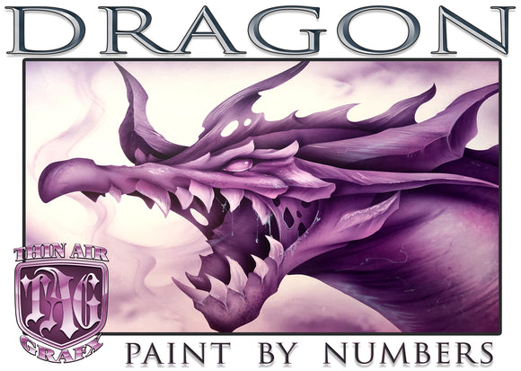 Dragon Paint By Number