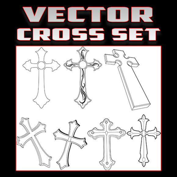 Cross vector set