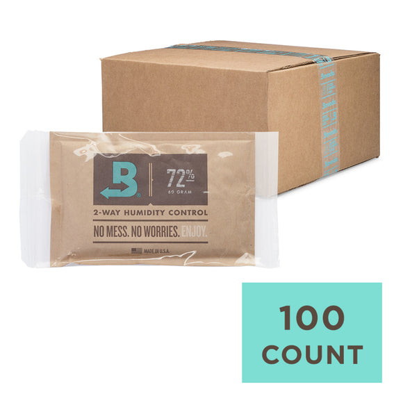 100 Unit Case Boveda Wholesale 60 Gram 72% RH