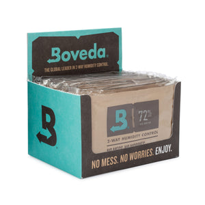 12 Unit Cube Boveda Wholesale 60 Gram 72% RH
