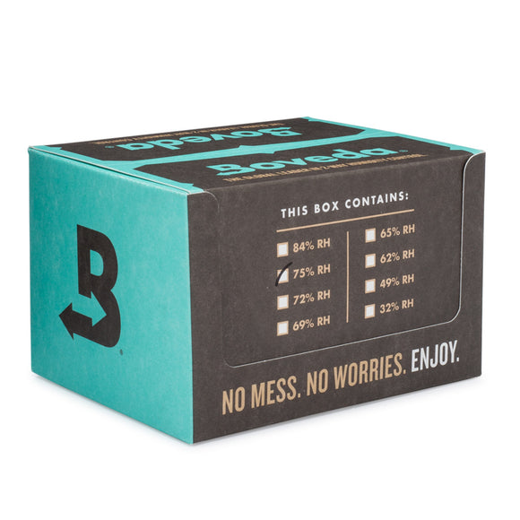 120 Unit 10 Cubes Case Boveda Wholesale 60 Gram 75% RH