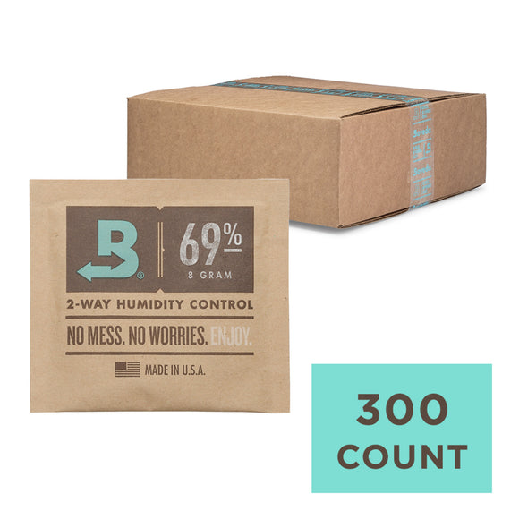 300 Unit Case Boveda Wholesale 8 Gram 69% RH