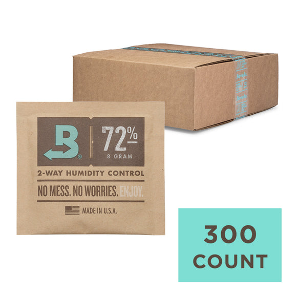 300 Unit Case Boveda Wholesale 8 Gram 72% RH