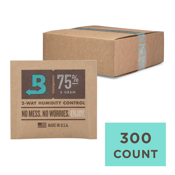 300 Unit Case Boveda Wholesale 8 Gram 75% RH