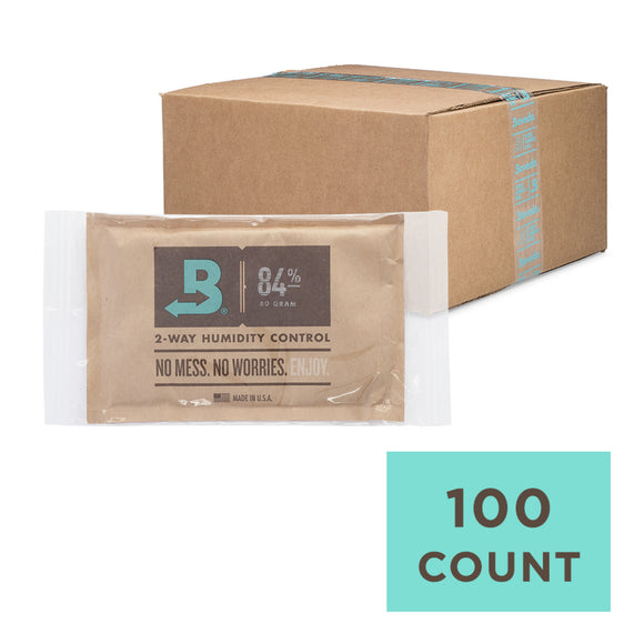 100 Unit Case Boveda Wholesale 60 Gram 84% RH