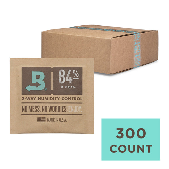 300 Unit Case Boveda Wholesale 8 Gram 84% RH