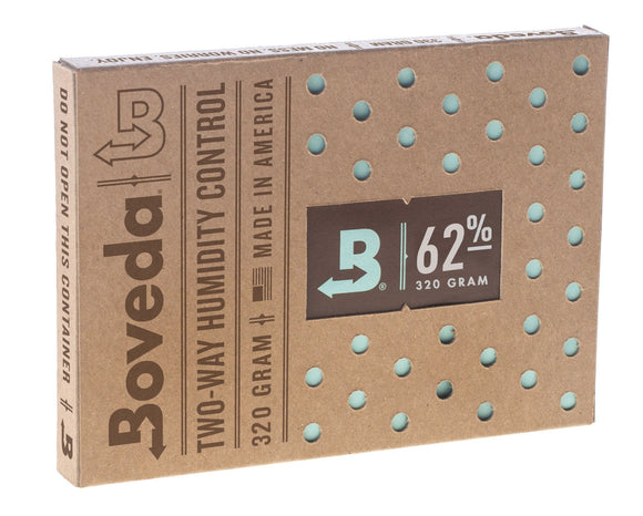 24 Unit Case Boveda Wholesale 320 Gram 62% RH