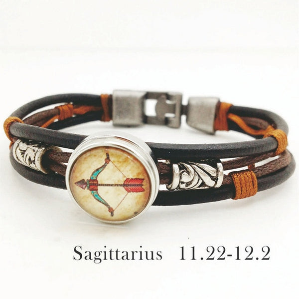 New Zodiac Bracelet 12 Constellation