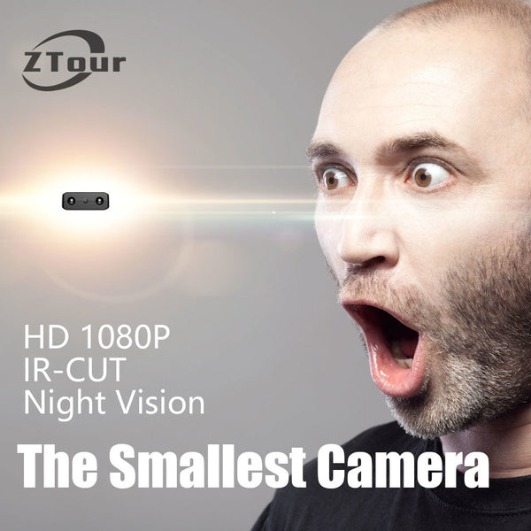1080P HD IR-Cut Mini Camera - Motion Detection With Night Vision