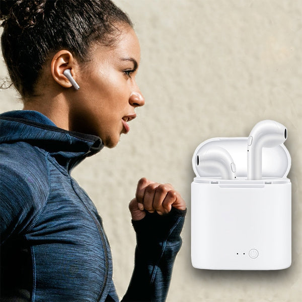 Mini Twins Bluetooth Wireless Earphones