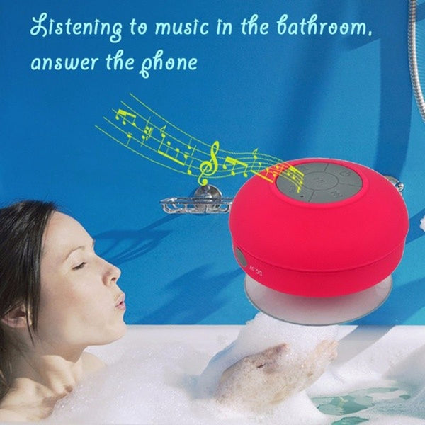 Mini Bluetooth Subwoofer (Receive Call Suction Mic)