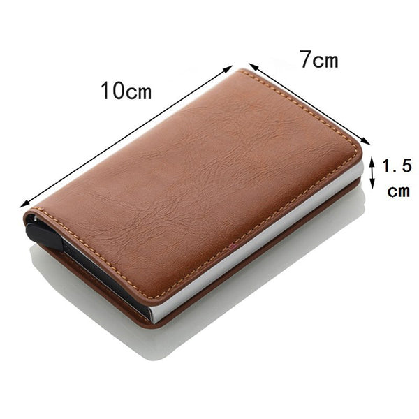 PU Leather Card Holder