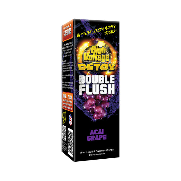 High Voltage Double Flush - Acai Grape