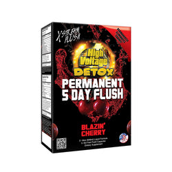 High Voltage Permanent 5 Day Flush - Blazin Cherry