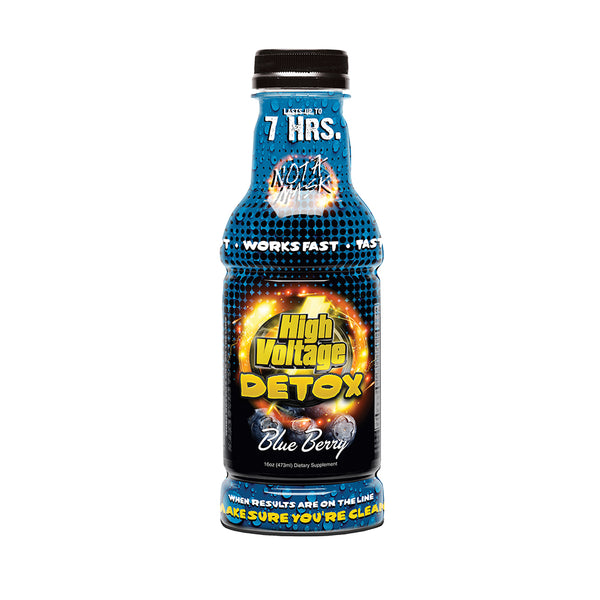 High Voltage Detox 16oz - Blueberry