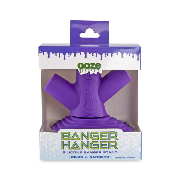 Ooze Banger Hanger Silicone Banger Stand - Ultra Purple