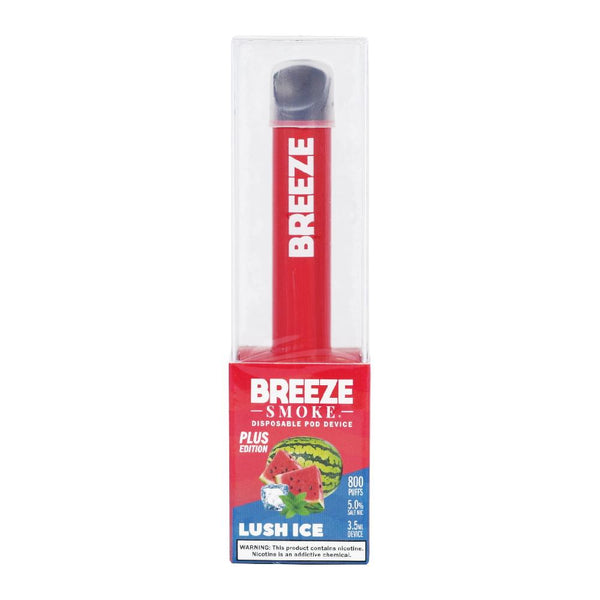 Breeze Smoke Disposable Vape Device - Lush Ice