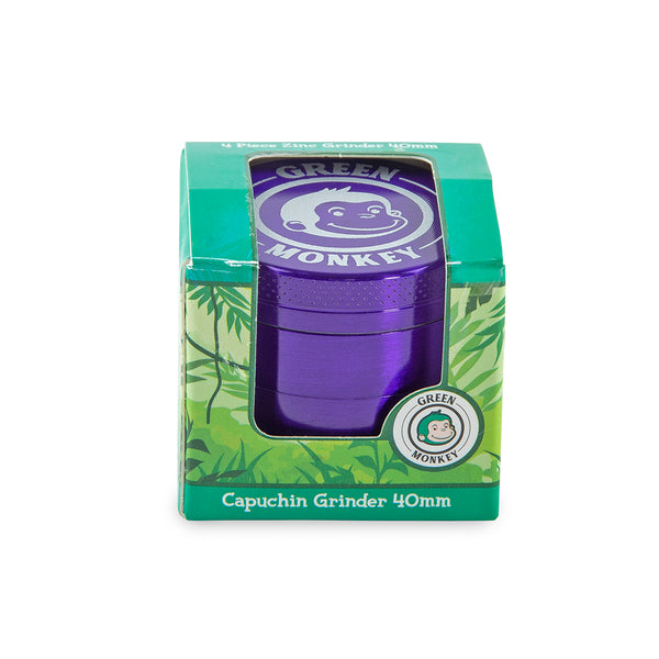 Green Monkey Grinder - Capuchin - Purple