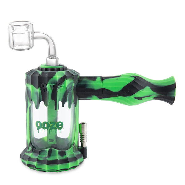 Clobb Silicone Water Pipe & Nectar Collector - Chameleon