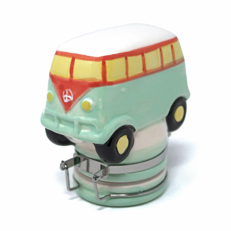 Contained Art - Ceramic Jar - Hippie Bus - 100mL