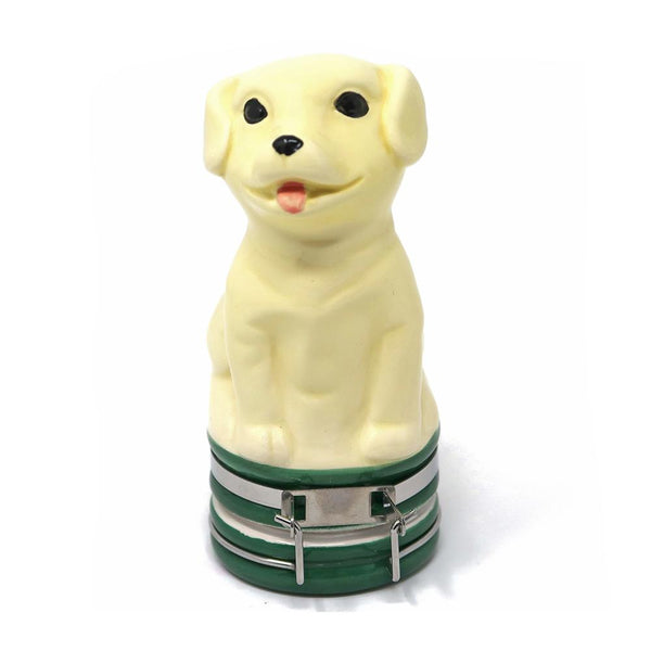 Contained Art - Ceramic Jar - Labrador Puppy - 100mL