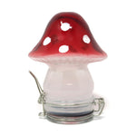 Contained Art - Glass Jar - Mushroom
