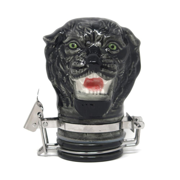 Contained Art - Porcelain Jar - Panther - 50mL