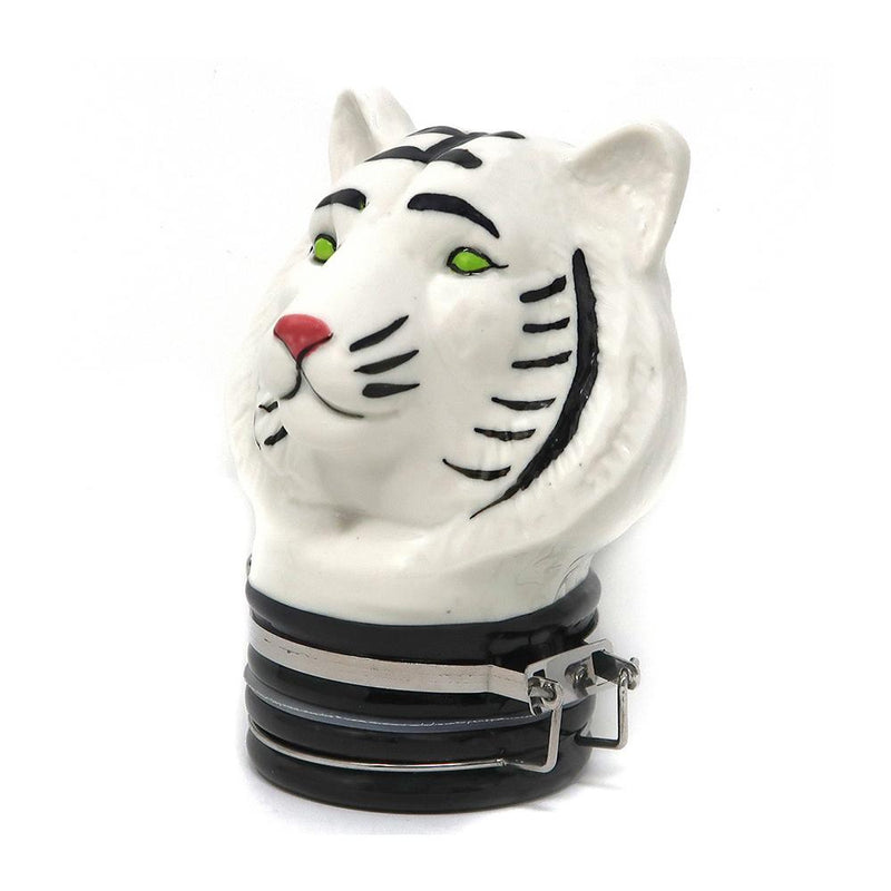 Contained Art - Porcelain Jar - Tiger