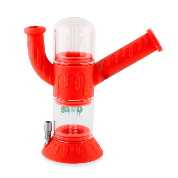 Cranium Silicone Water Pipe & Nectar Collector - Scarlet