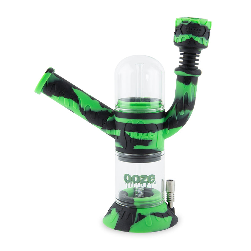 Cranium Silicone Water Pipe & Nectar Collector - Chameleon