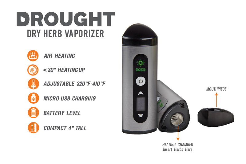 Drought Dry Herb Vaporizer Kit - GREEN