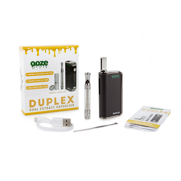 Duplex Dual Extract Vaporizer Kit - BLACK