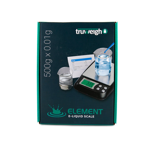 Truweigh Element DIY E-Liquid Scale - 500g x 0.01g