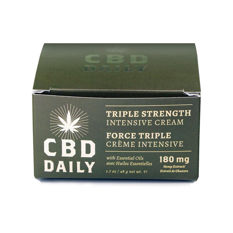 Earthly Body - CBD Daily Intensive Cream - Triple Strength - 1.7oz
