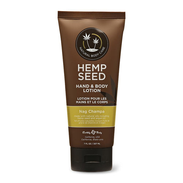Earthly Body - Hemp Seed Hand & Body Lotion - Velvet Nag Champa - 7oz