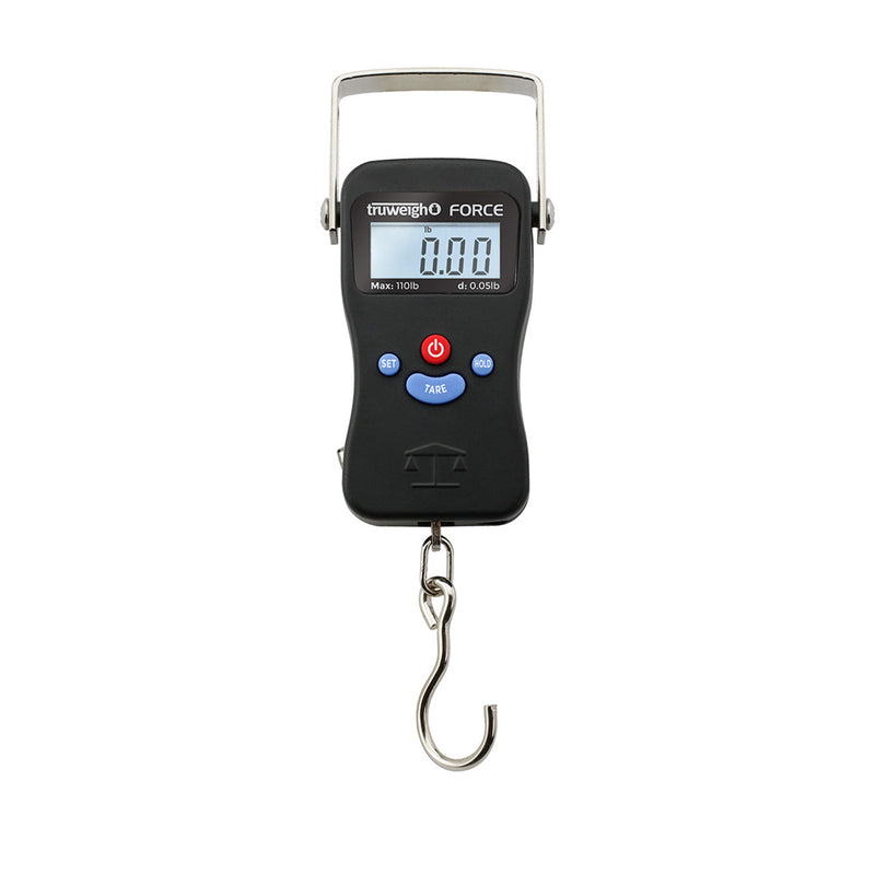 Truweigh Force Digital Hanging Scale - 110lb x 0.05lb