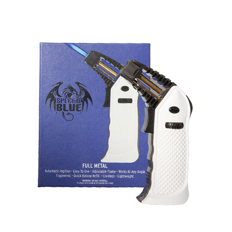 Special Blue Torch - Full Metal - White