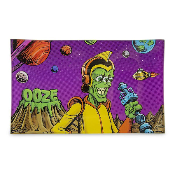 Ooze Rolling Tray - Shatter Resistant Glass Invasion Medium