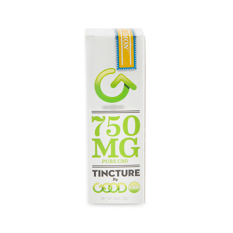 Good CBD Tincture - 750mg - 30ml - Lemon