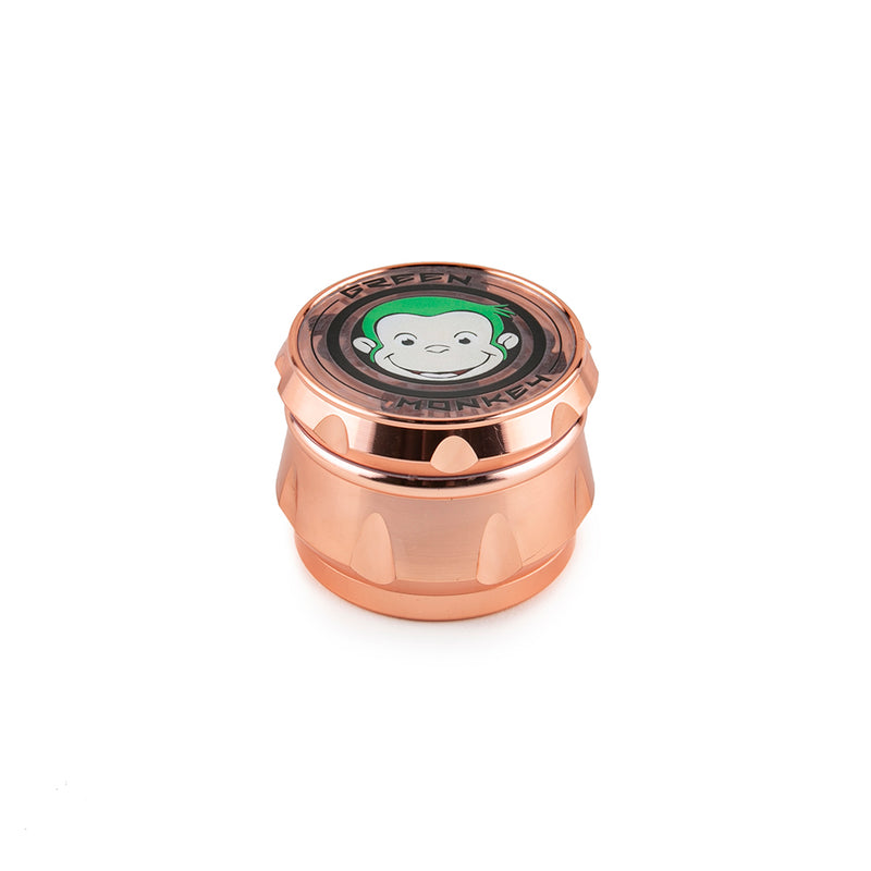 Green Monkey Grinder - Baboon Crown - 63mm - Rose Gold