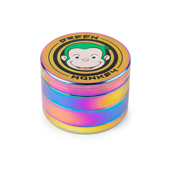Green Monkey Grinder - Capuchin - 63mm - Rainbow