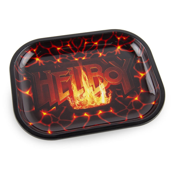 Famous Brandz Hellboy Fire Rolling Tray