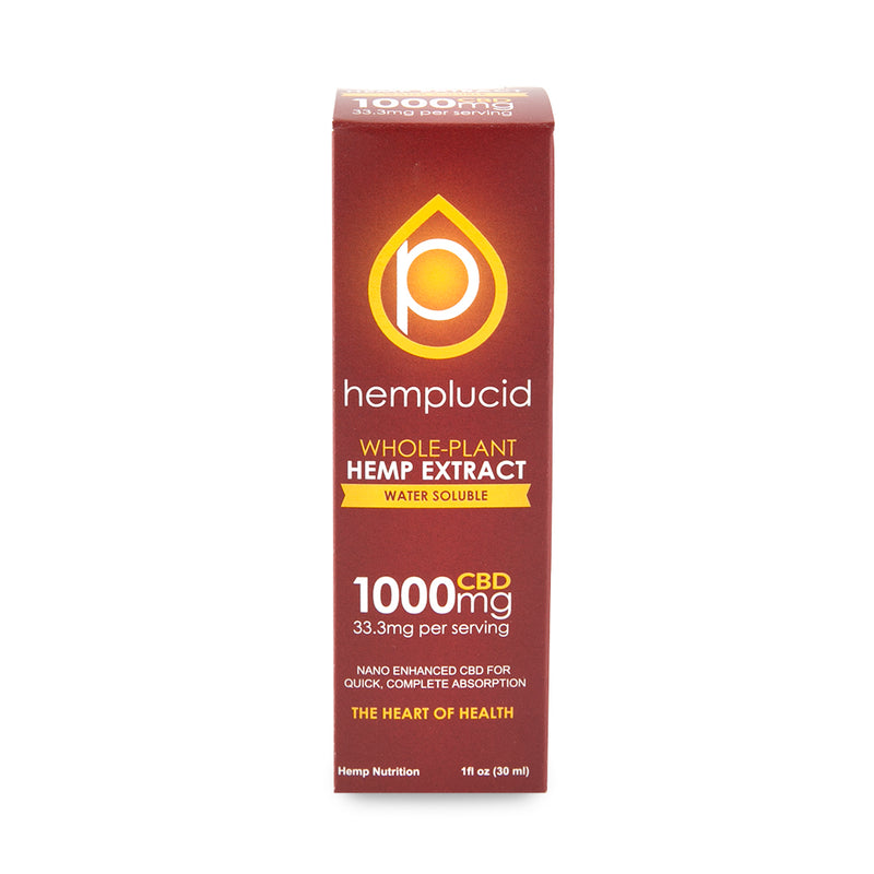 Hemplucid CBD Water Soluble - 1000mg - 1oz