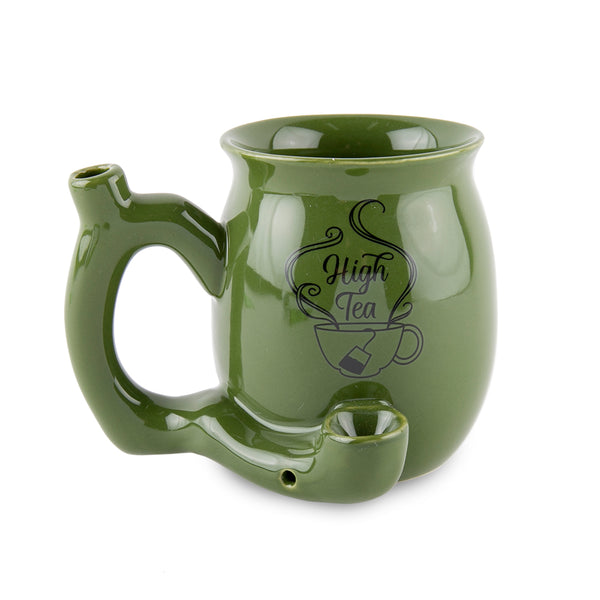 High Tea Ceramic Mug - Green - Small