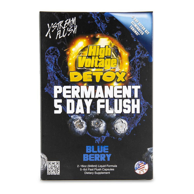 High Voltage Permanent 5 Day Flush - Blueberry