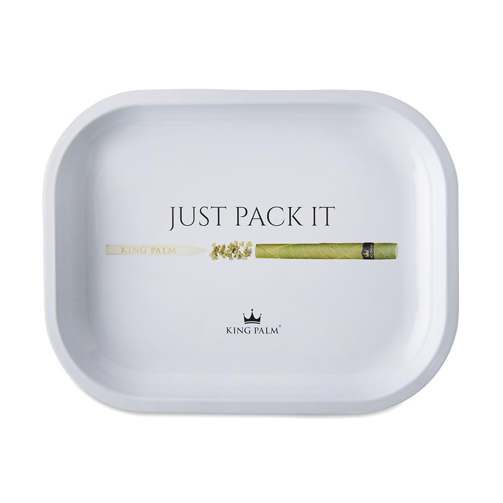 King Palm Rolling Tray - Just Pack It - Small