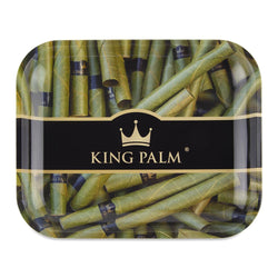 King Palm Rolling Tray - Royal - Large