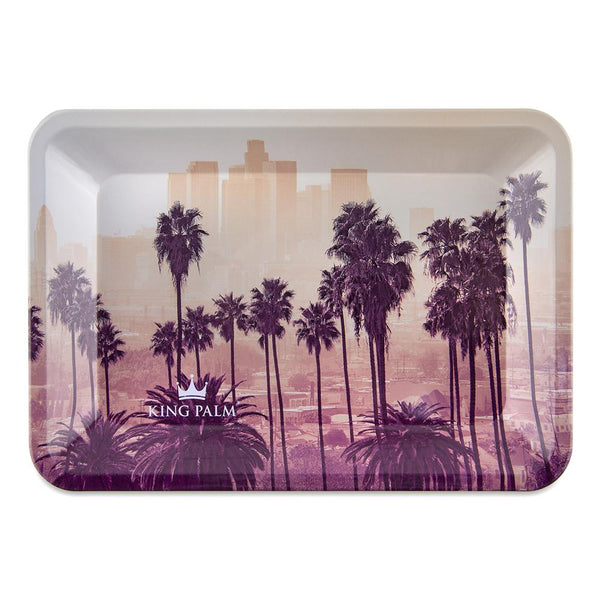 King Palm Rolling Tray - Sunset - Small