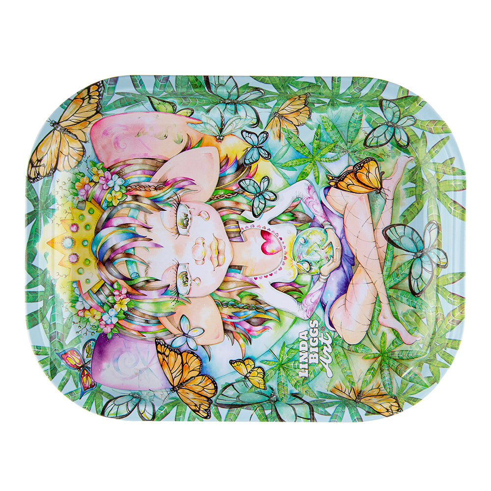 Linda Biggs Rolling Tray - Always - Small