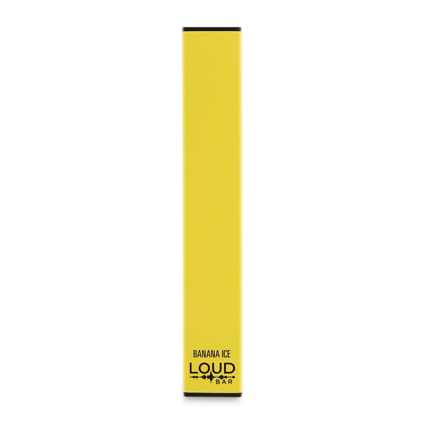 Loud Bar Disposable Vape Device - Banana Ice - Limited Edition